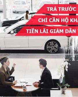 Hướng dẫn thủ tục mua xe ô tô Honda trả góp