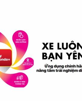 Honda triển khai ứng dụng My Honda+ tại Việt Nam