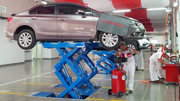 Chuyên gia hướng dẫn bảo dưỡng ô tô Honda mới mua đúng cách