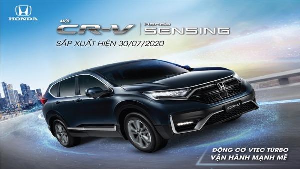 Honda CR-V 2020 Facelift sắp ra mắt